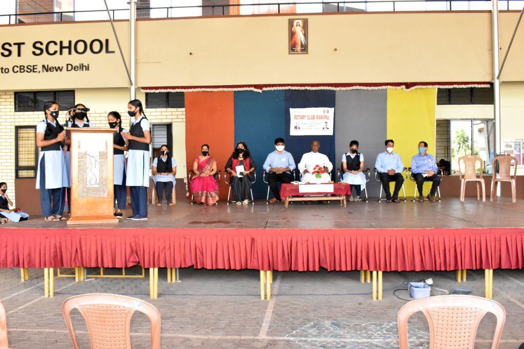 Interact Club Installation Ceremony