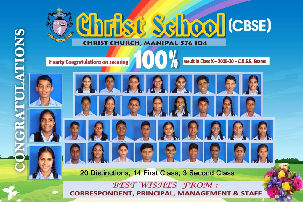 Class X Result: Academic Year 2019-2020